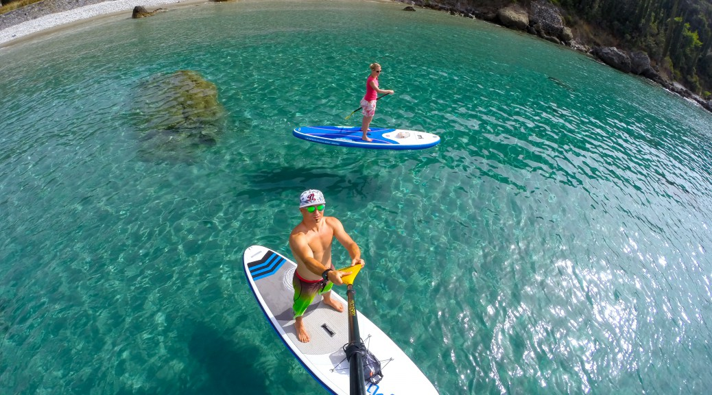 Stand Up Paddling Griechenland