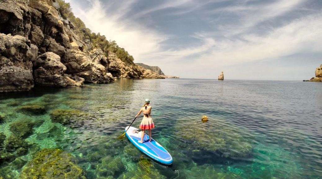 Stand Up Paddling Ibiza